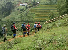 FANSIPAN CLIMBING TOURS - CAT CAT ROUTE TRIP SAPA 4 DAYS
